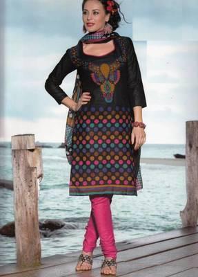 Dress material cotton designer prints unstitched salwar kameez suit d.no PA10061