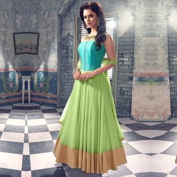 b2d9cfa3fa MErT INDIA Pista embroidered net unstitched lehenga choli (premium quality  ) - DD's creation - 1155727