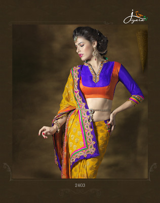 Designer Banarsi Georgette Saree
