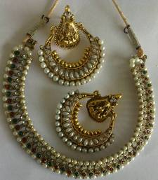 Designer Ram Leela Earings with Traditional Necklace shop online