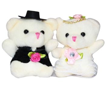 Cute Couple Teddy Bear Valentine Gift Set