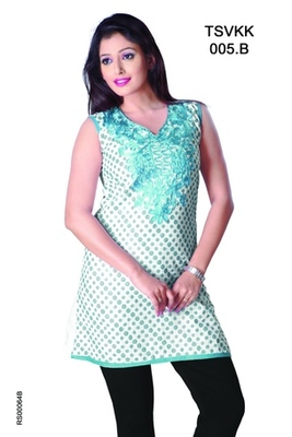 Triveni Smart Casual Wear  Summer Cotton Kurti 0005b