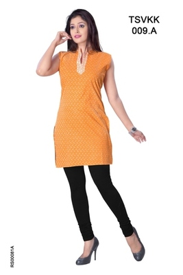 Triveni Fancy Casual Wear  Summer Cotton Kurti 0009a