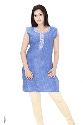 Triveni Fancy Casual Wear  Summer Cotton Kurti 009e