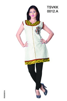 Triveni Fancy Casual Wear  Summer Cotton Kurti 0012a