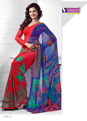 exremely stylish saree
