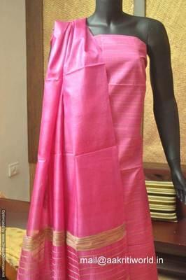 Tussar Silk Half Set.
