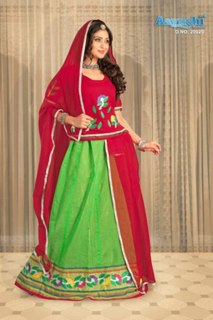 Buy Maroon And Green Colour Rajasthani Poshak Online