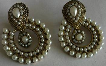 Designer Stylish Pearl Earings
