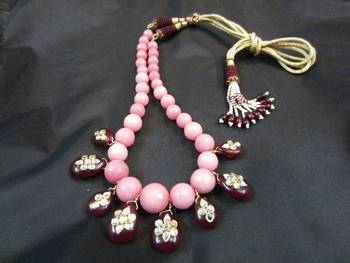 TRADITIONAL MALA WITH DECORATIVE SARAFA