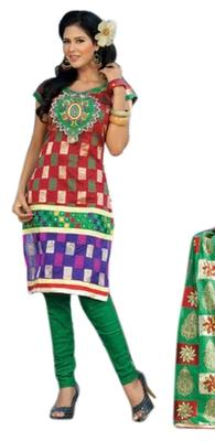 Triveni Classy Multi Printed Casual Wear Salwar Kameez TSRCSK02
