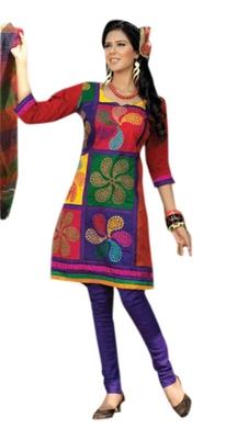 Triveni Graceful Multi Printed Casual Wear Salwar Suit TSRCSK11