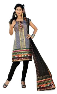 Triveni Elegant Multi Printed Casual Wear Salwar Kameez TSRCSK12