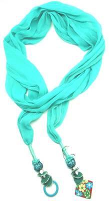 designer handmade scarf jewellery