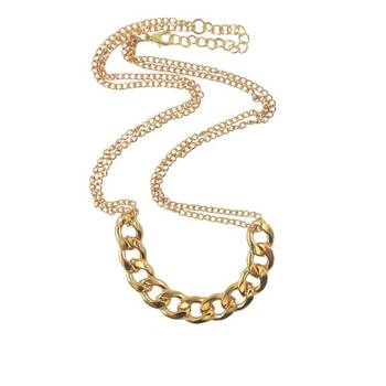 DIOVANNI Chennai Express In Overdrive Statement Necklace