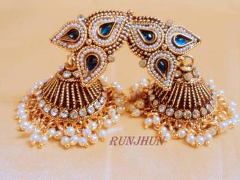 ROYAL BLUE ROYAL JHUMKA