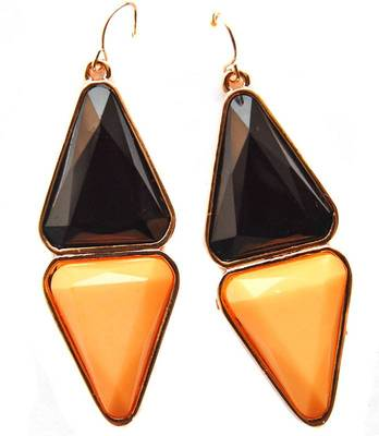 Multicolour Modern Trendy Office Dailywear Drops Earrings