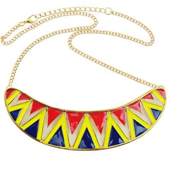 Tribal Fusion Bohemian Statement Necklace