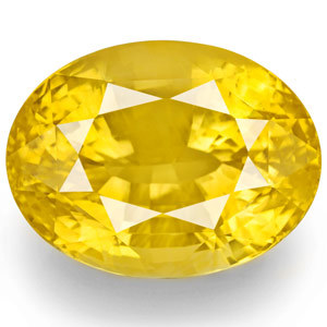 6.25 carat certified yellow sapphire pukhraj gemstone