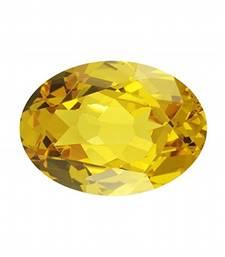 Buy 7.25 carat certified yellow sapphire pukhraj gemstone loose-gemstone online