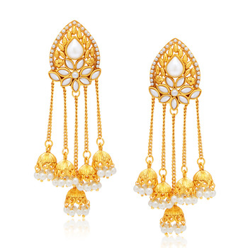 Stunning Gold Plated Earring For Women