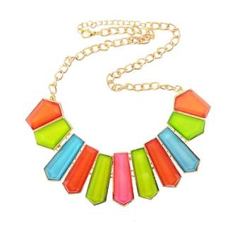 Pirates of Kickass Colours Edgy Neon Colour Necklace
