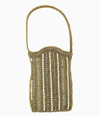 Golden Pearl Designer Mobile Pouch