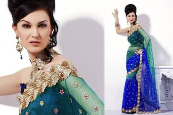 Designer Pure Net Saree