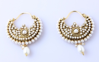 EMBELLISHED LUXE EARRINGS