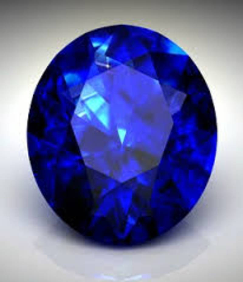 buy 5 25 carat blue sapphire neelam gemstone
