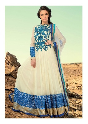 Party Wear Designer Long Aanarkali