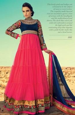 Party Wear Designer Long Aanarkali