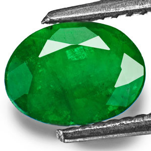 4.25 carat natural Emeralg panna gemstone with lab certified