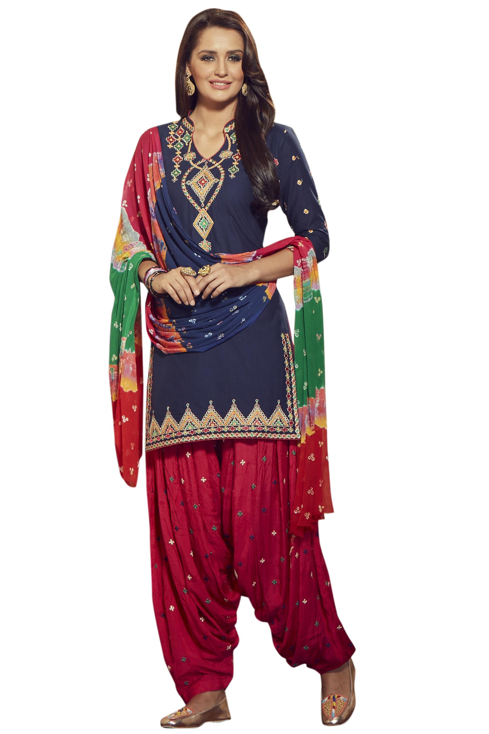 bdaa7291ff Buy Patiala Salwar Kameez Online   Patiala Designer Suits