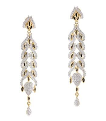 Long-n-Rich CZ Earrings
