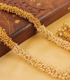 Buy Lovely Pearl Cluster Designer Necklace Set  women-ethnic-wear online