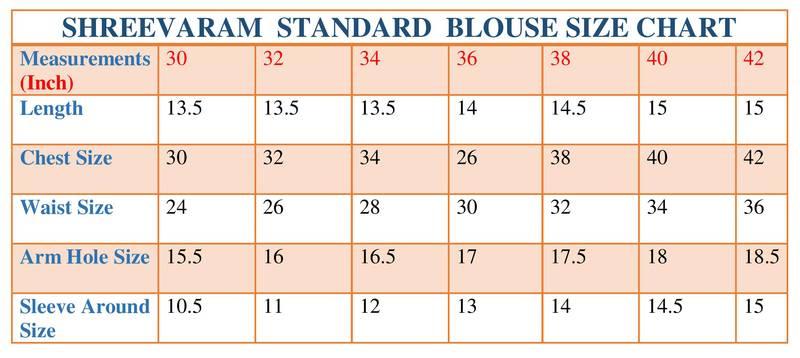 readymade blouse size chart: Readymade blouse size chart readymade blouse size chart the