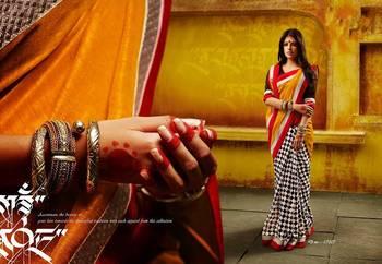 Bhagalpuri Saree with Elegant print