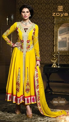 Party Wear Designer Long Aanarkali Suit