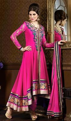 Designer Long Aanarkali Suit