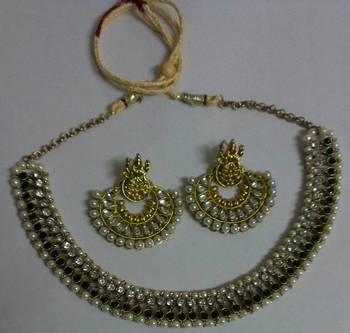 Designer Ram Leela Earings Necklace set