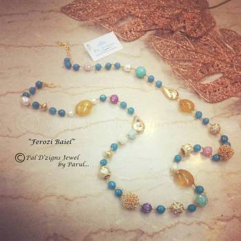 Ferozi Baeil - Neckline cum Wrist String