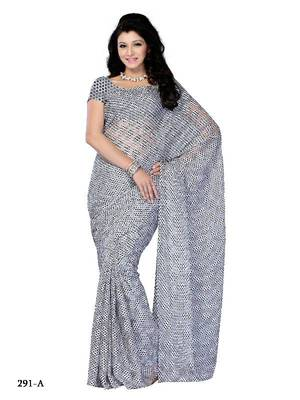 Affinitive party wear fancy designer saree