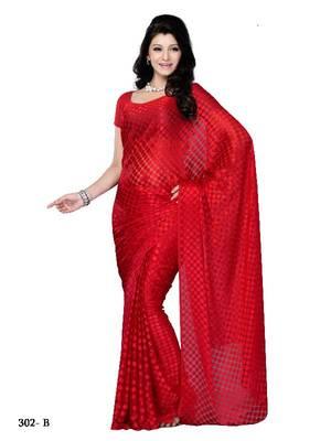 Adorable party wear fancy designer saree
