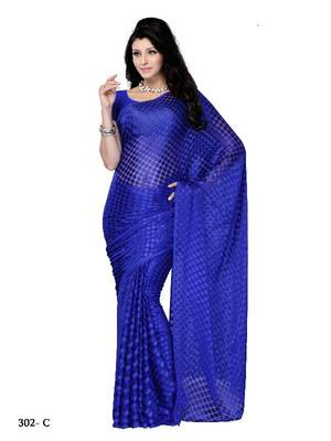 Gracile Party/Festival wear designer saree by DIVA FASHION-Surat