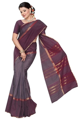 Triveni Fashionable Multied Printed Cotton Saree TSMRCC432