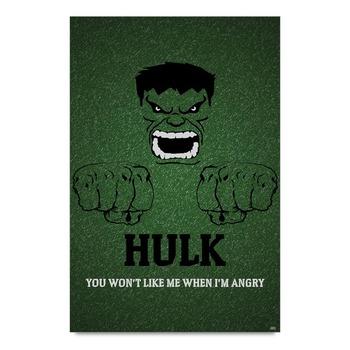 Hulk Minimalistic Poster