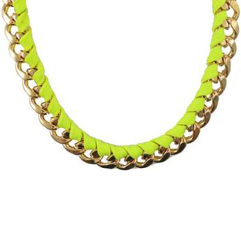 DIOVANNI Boss We Party All Night Studded Necklace
