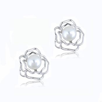 Selene White Gold Plated Alloy Earring For Women