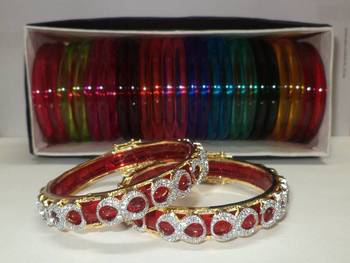 Changeable American Diamond Bangle